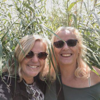 40plusvriendinnen Sandra Engels en Monique Anrochte