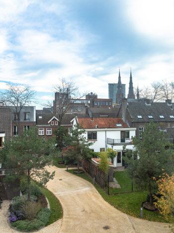 uitzicht vanuit mijn hotelkamer bij Hotel de Match