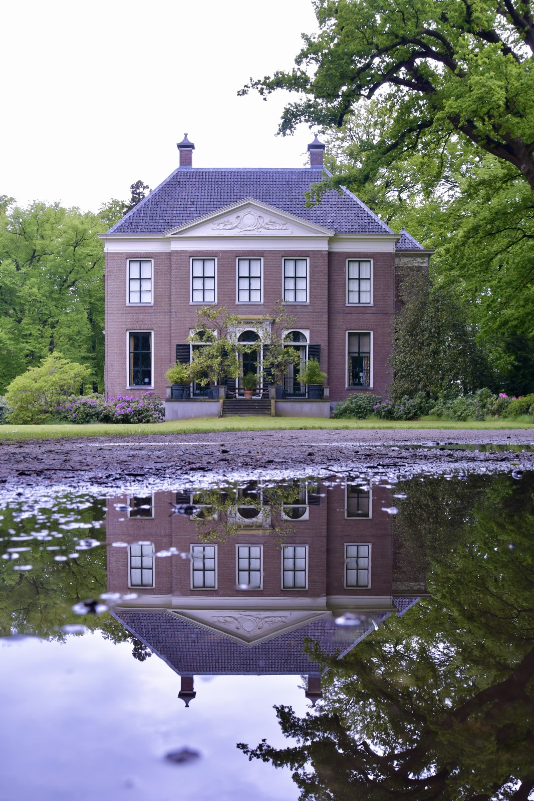 puddlegram met erfgoed bij de 's-Gravelandse buitenplaatsen